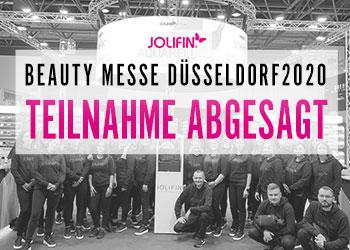 Beauty Messe Düsseldorf - Teilnahme abgesagt