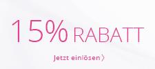 15 % geschenkt