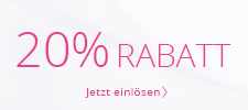 20 % geschenkt