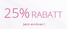 25 % geschenkt