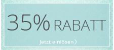 35 % geschenkt