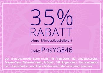 35% geschenkt