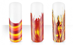 Rocking Flames Nailartanleitung