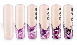 Violet Dreams Nailartanleitung