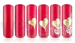 Golden Heart Nageldesign