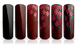 Red Garden Nailartanleitung