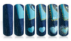 Denim Dream Nailart Anleitung