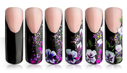 Nightflower Nailart Anleitung