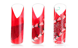 Strawberry Kiss Nailart Anleitung