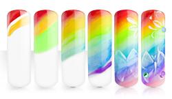 Rainbow Butterfly Anleitung