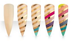 Stripes & Shine Anleitung