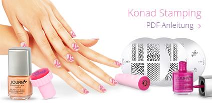 Anleitung Konad-Stamping