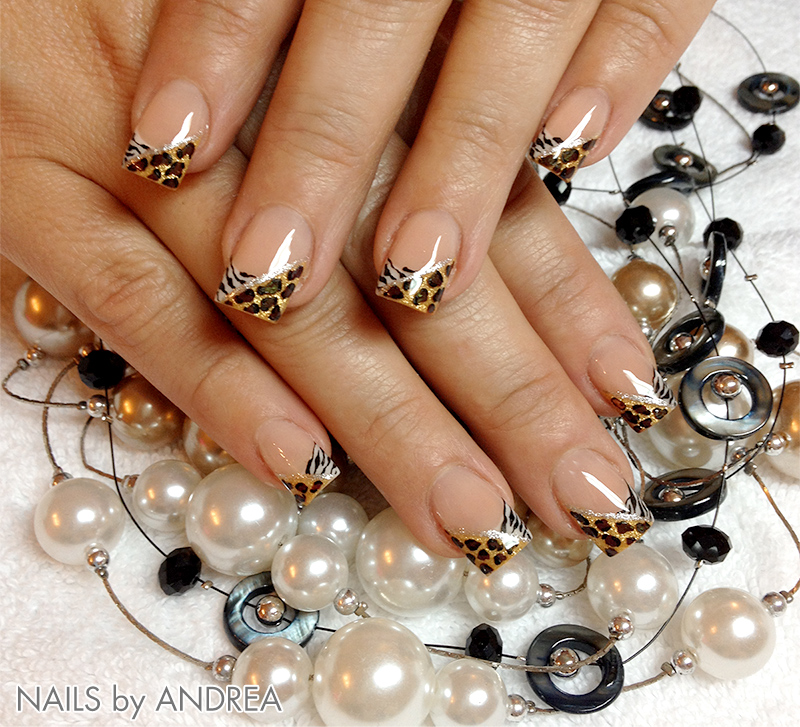 trendstyle fashion nailart trends leoparden style pretty nail shop 24. Black Bedroom Furniture Sets. Home Design Ideas