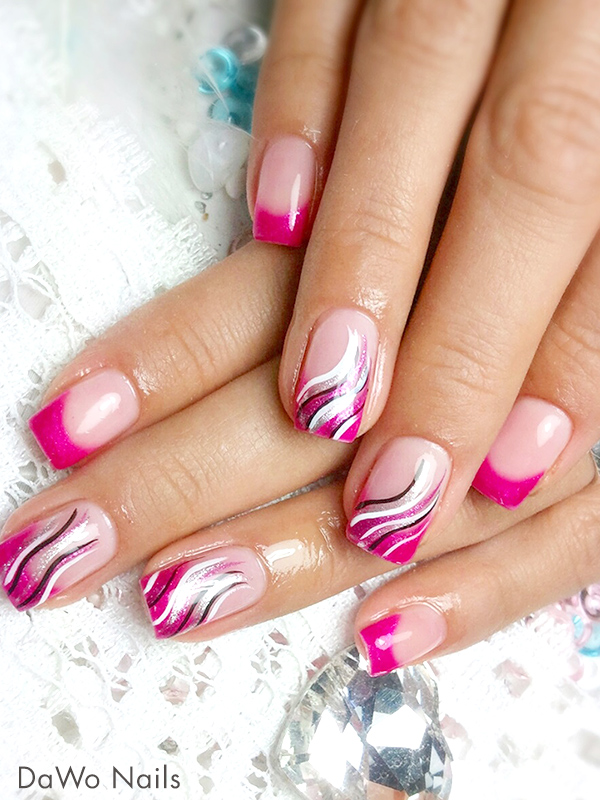 trendstyle lieblingsfarbe pink pretty nail shop 24. Black Bedroom Furniture Sets. Home Design Ideas