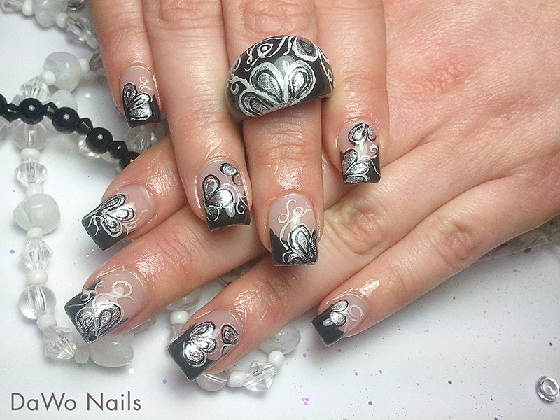 trendstyle fashion nailart trends metallic pretty nail. Black Bedroom Furniture Sets. Home Design Ideas