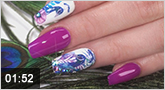 "Nailart: ""Pink Peacock"" mit den neuen Tropical Tattoos"