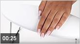 Jolifin Handauflage weiß - Professional extra hoch