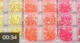 Jolifin LAVENI Strass-Display XL - neon