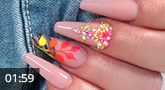 Nailart: Tropical Nails