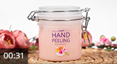 Jolifin Hand Peeling - blooming peach