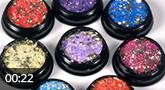 Jolifin LAVENI Foil Flakes Glitter