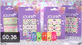 Jolifin Neon Sticker 23 � 28