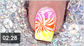Nailart Stamping Lacke �Neon Summerflower�