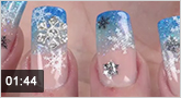 Nailart ?Beautiful Snowflakes?
