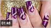 Nailart Farbgele �Violet Dream�