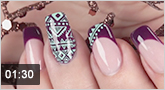 Nailart Stamping-Lacke und Farbgel �Mexican Holiday�
