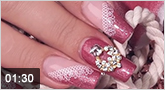 Nailart �Diamonds are a girl's best friend�