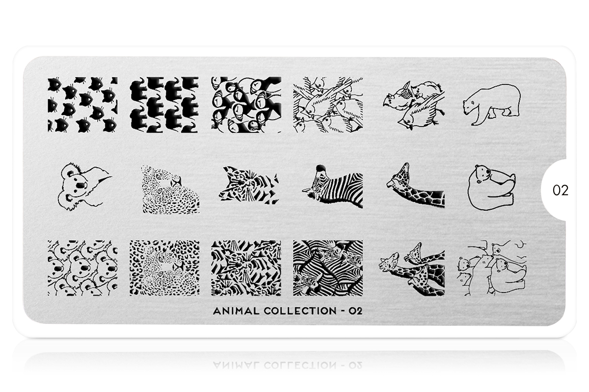 MoYou-London Schablone Animal Collection 02