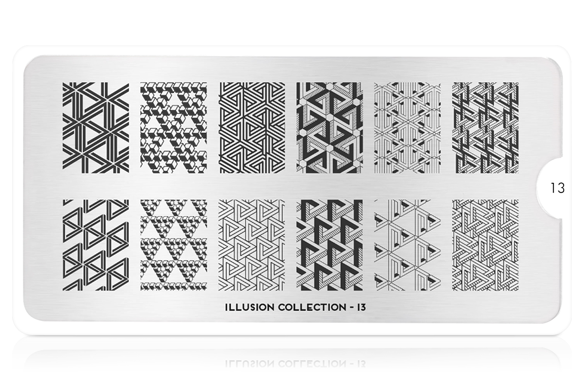 MoYou-London Schablone Illusion Collection 13