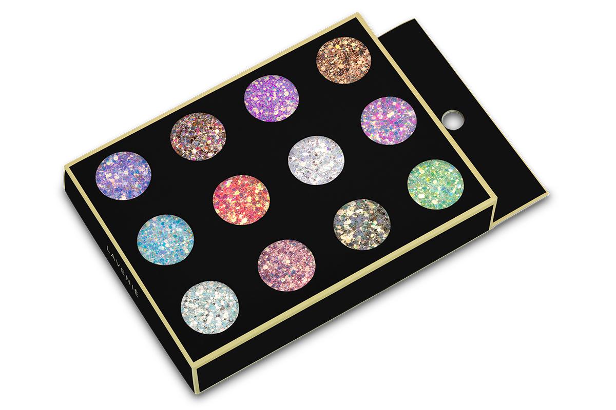 Jolifin LAVENI Glitter Set - Glossy Puder