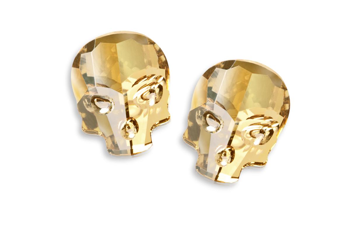 Swarovski Skull - golden shadow