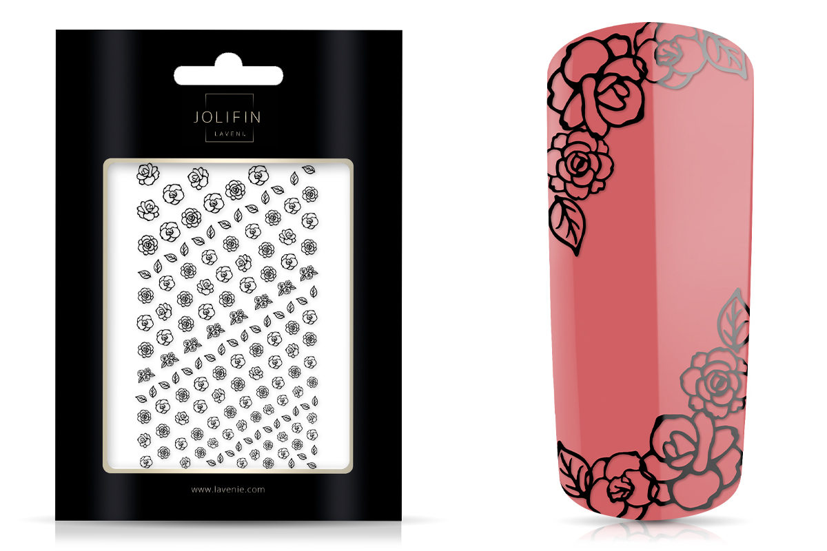 Jolifin LAVENI XL Sticker - Black 4