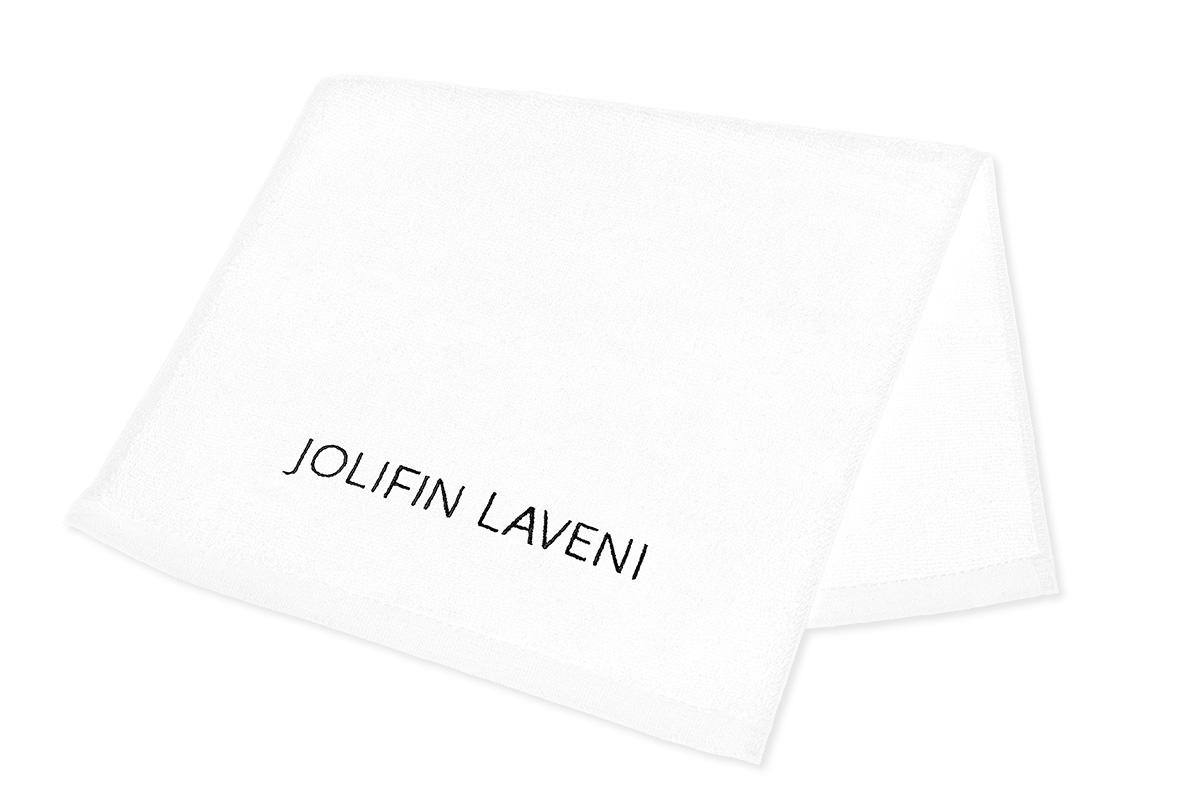 Jolifin LAVENI Handtuch - weiß