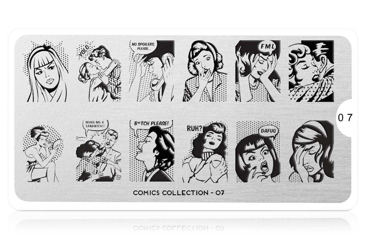 MoYou-London Schablone Comics Collection 07