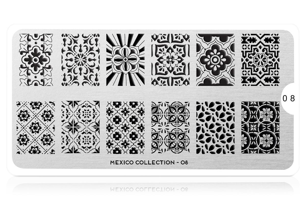 MoYou-London Schablone Mexico Collection 08