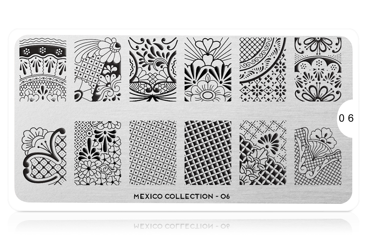 MoYou-London Schablone Mexico Collection 06