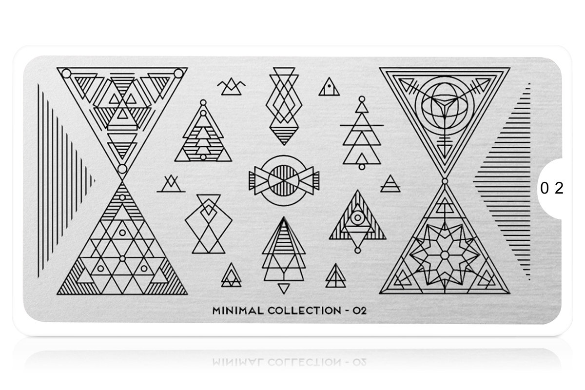 MoYou-London Schablone Minimal Collection 02