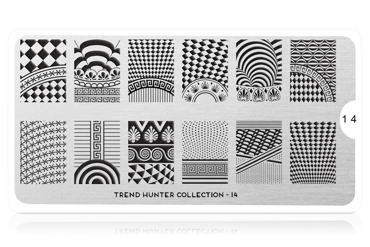 MoYou-London Schablone Trend Hunter Collection 14