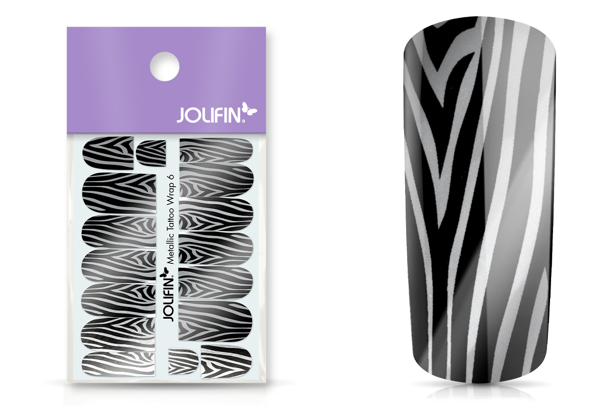 Jolifin Metallic Tattoo Wrap 6