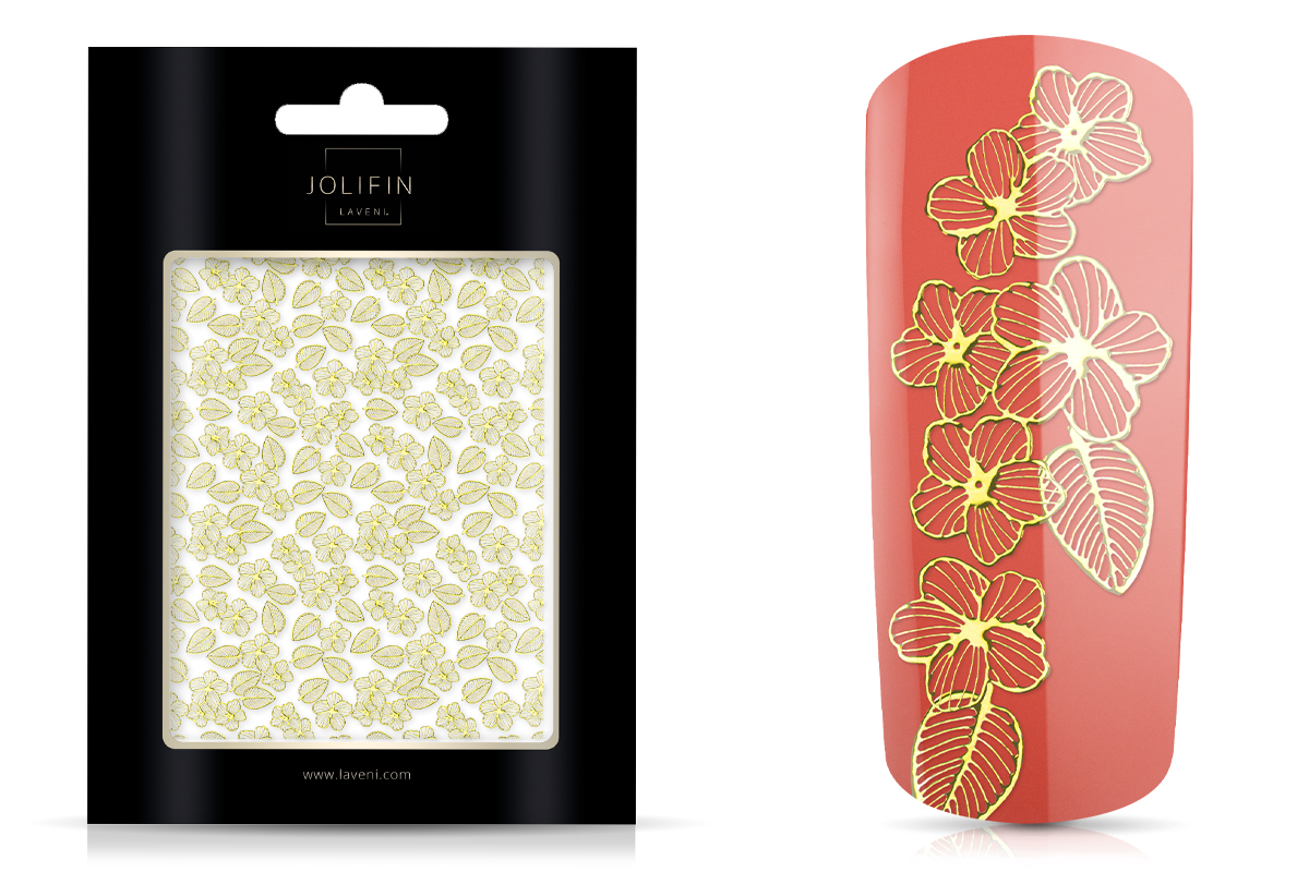 Jolifin LAVENI XL Sticker - Gold 5