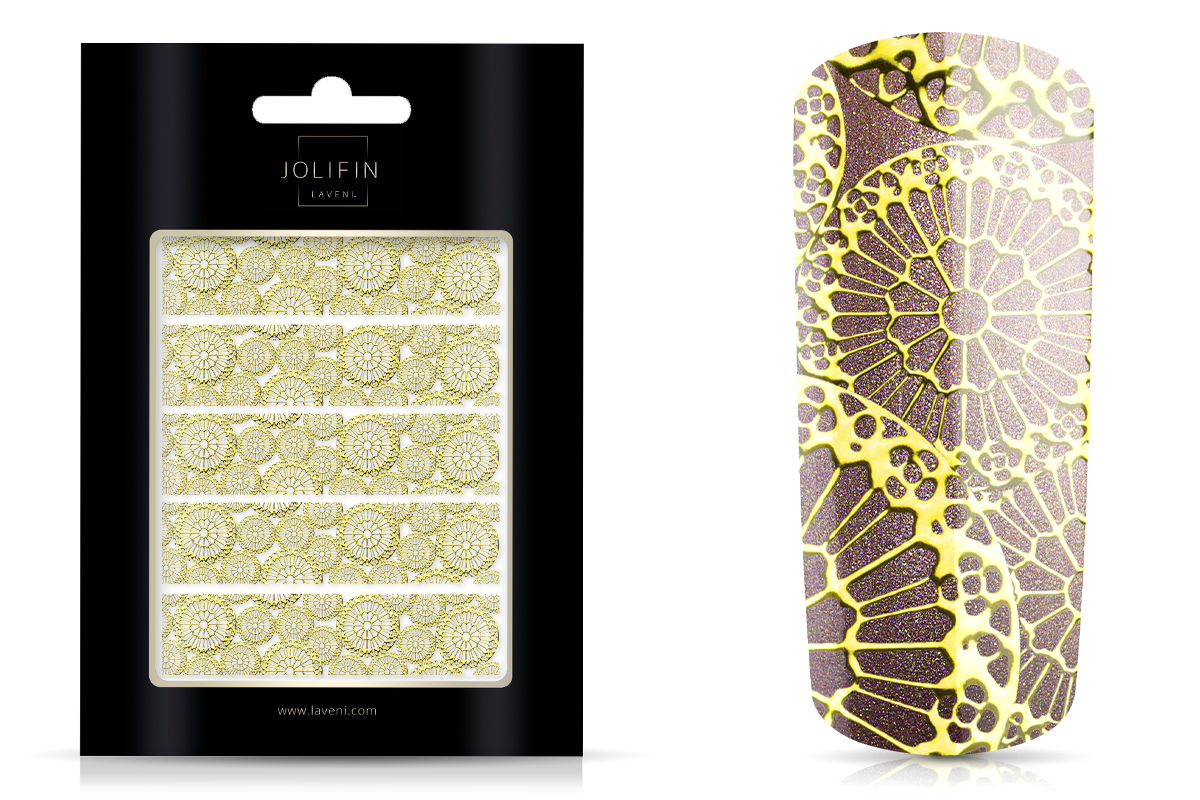 Jolifin LAVENI XL Sticker - Gold 6