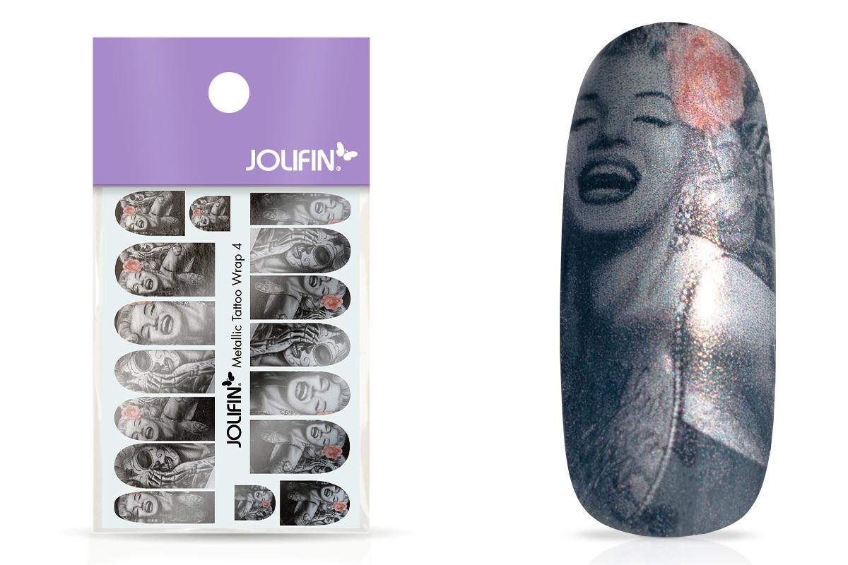 Jolifin Metallic Tattoo Wrap 4