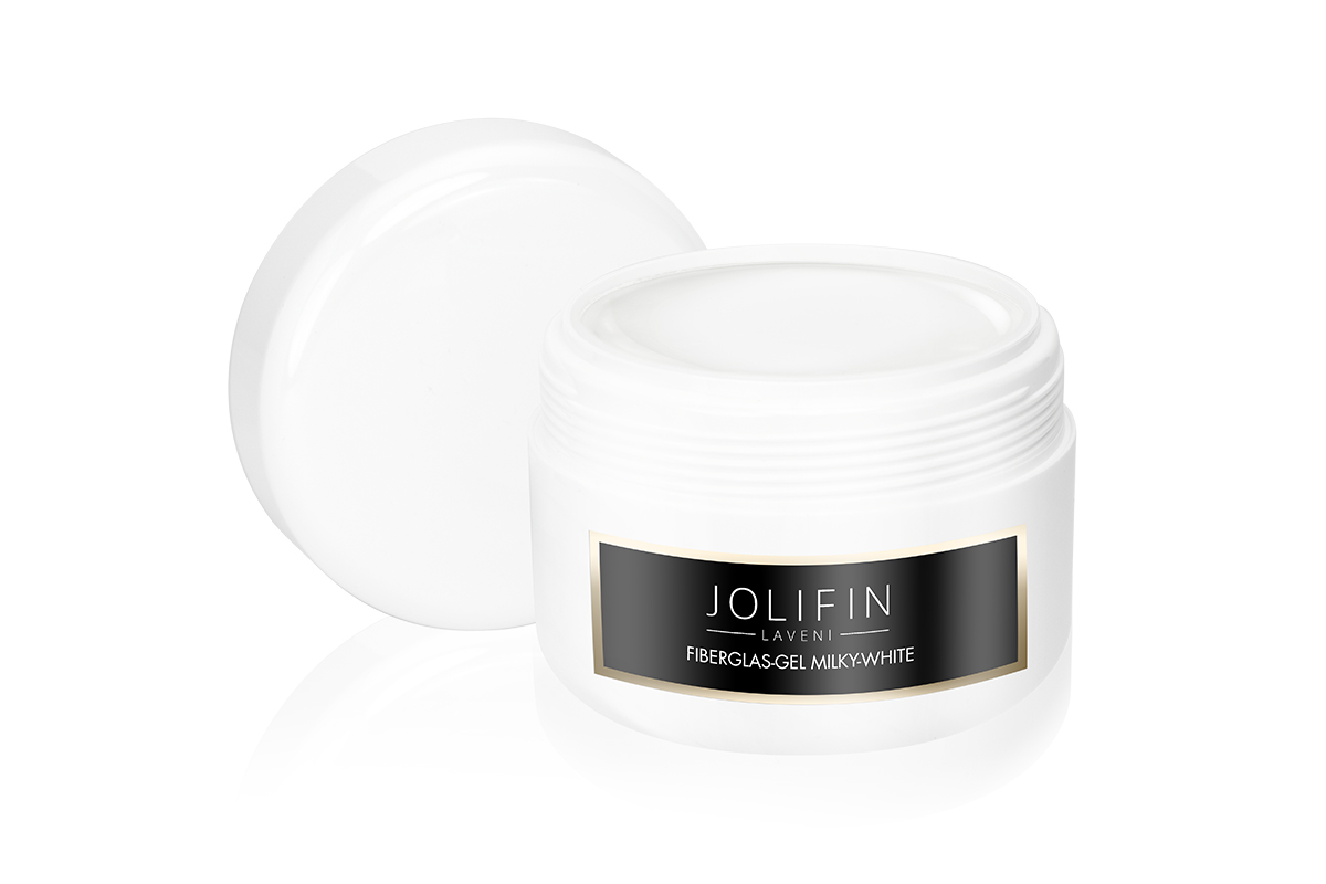 Fiberglas-Gel milky-white 250ml - Jolifin LAVENI