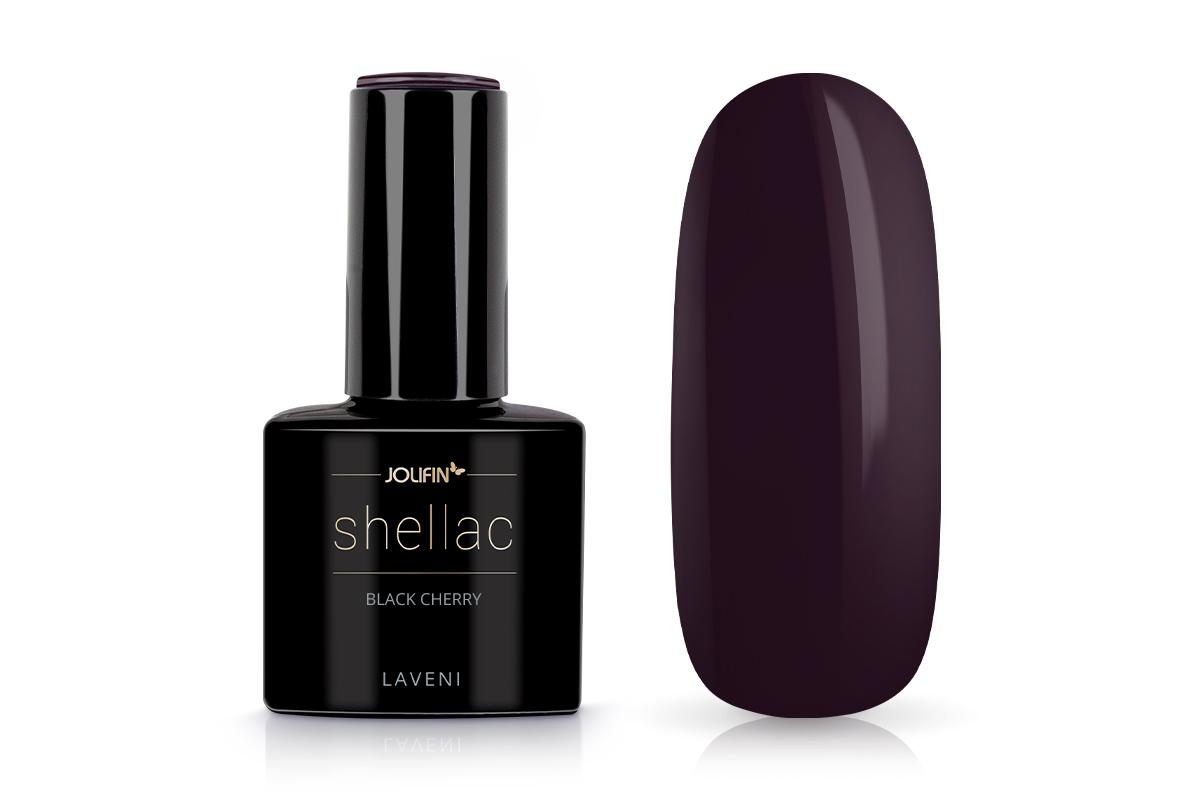 Jolifin LAVENI Shellac - black cherry 12ml