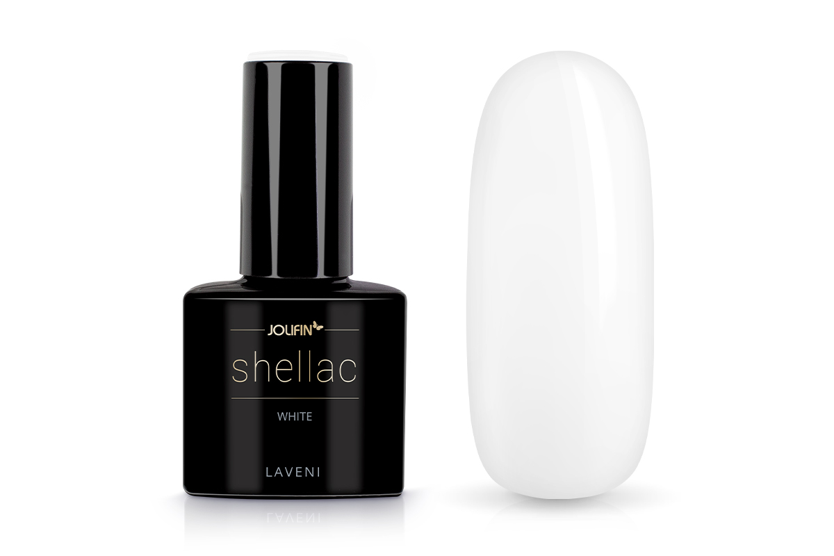 Jolifin LAVENI Shellac - white 12ml