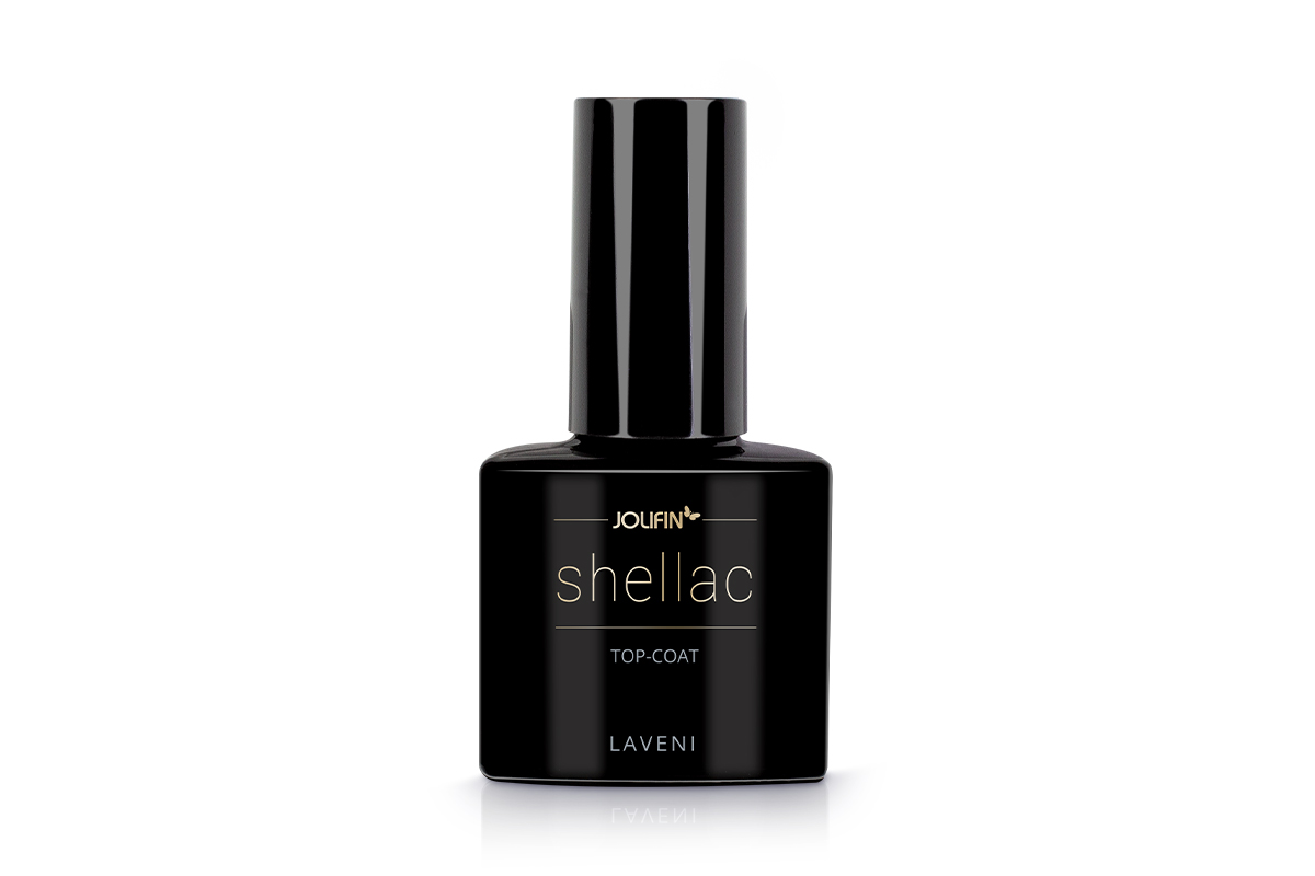 Jolifin LAVENI Shellac - Top-Coat 12ml